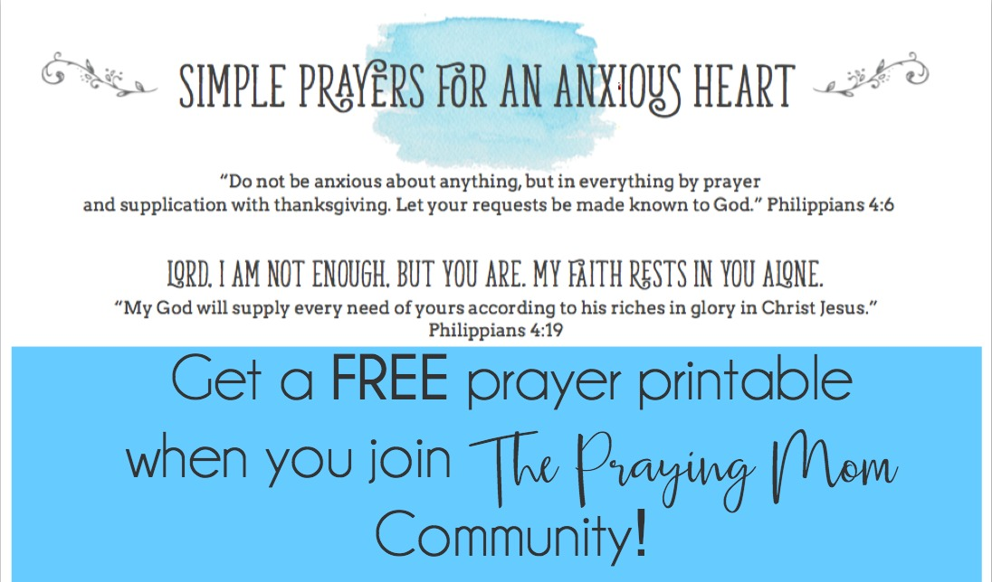 FREE Prayer Printable