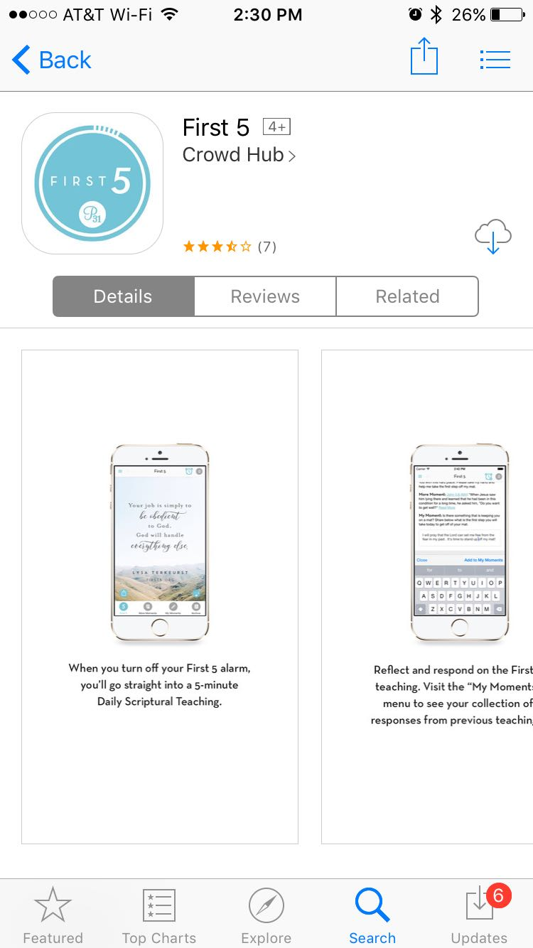 First 5 App Download - God's Word