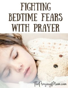 Bedtime Fears prayer