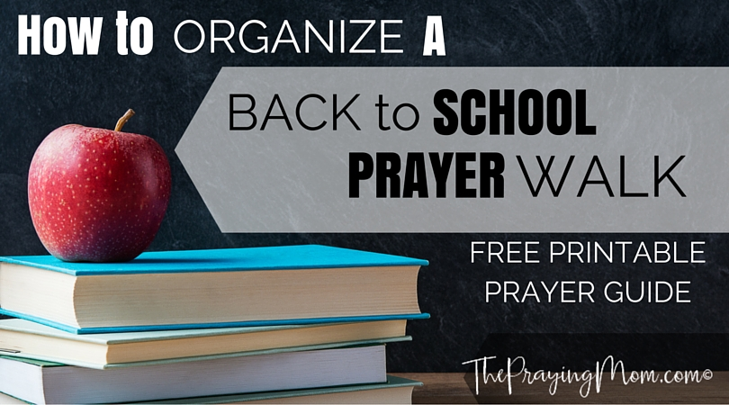 Prayer Walk at a School