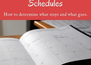 Evaluating Your Kids' Schedule