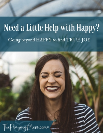 Do you Need Help with Happy?