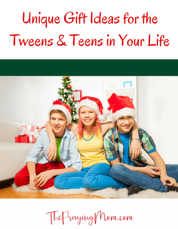 Unique Gifts for the Tweens & Teens in Your Life