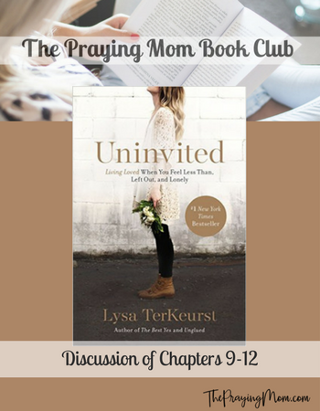 Uninvited Book Club Discussion of Chapters 9-12